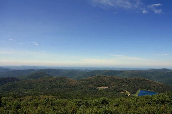 Mount Equinox : View from the top