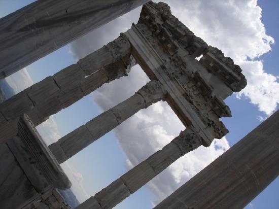 Pergamon Theatre : The Temple of Trajan