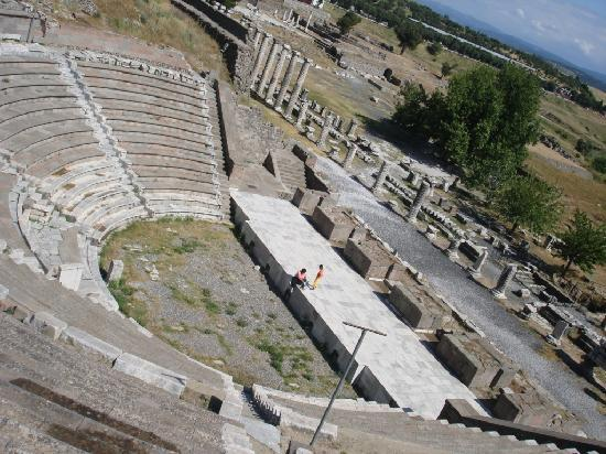 Pergamon Theatre : The Theater at the Asclepion