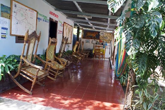 Altagracia, Nicaragua: Veranda