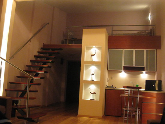 Sodispar Serviced Apartments : Our loft apartment upgrade!