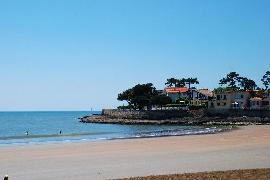 Saint-Palais-sur-Mer, Frankrig: St Palais Sur Mer beach view