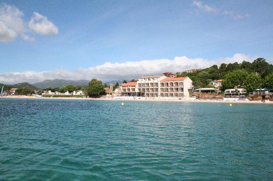 Le Pinarello Hotel: View from the marina