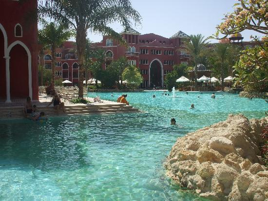 the pool area is massive  Grand Resort 5*, Єгипет,  Хургада - photo