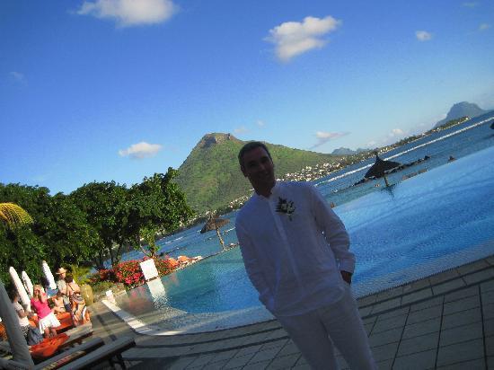 Sands Suites Resort & Spa: Le marié... et le paysage !