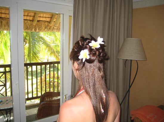 Sands Suites Resort & Spa : Notre chambre, et sa vue sur les jardins et l'océan