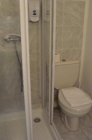 Hotel Esperanto: il bagno è piccolo ma ci si sta...