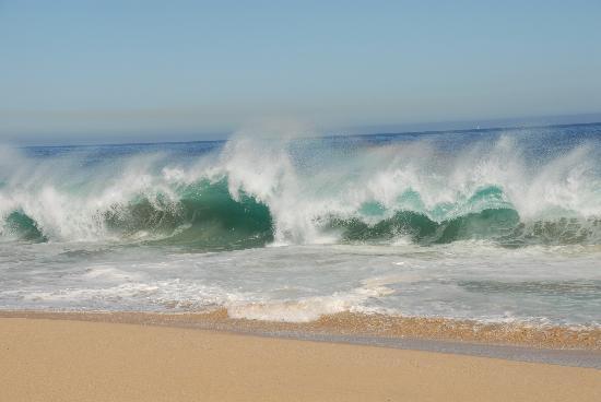 Sheraton Grand Los Cabos Hacienda del Mar: Oleaje, impresionante