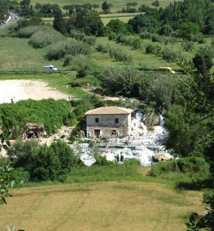 Agriturismo Le Cascatelle: Le cascate del mulino