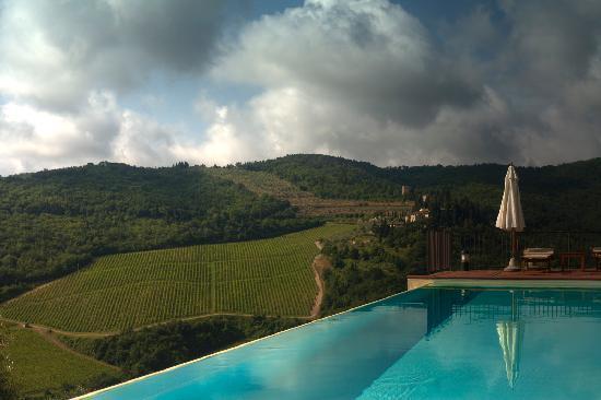 Castello Vicchiomaggio: Pool