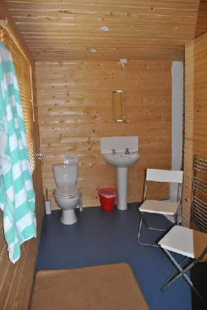 Moyles Farm: toilet attached