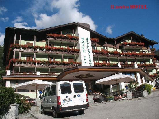Pinzolo, Italia: l'esterno dell hotel