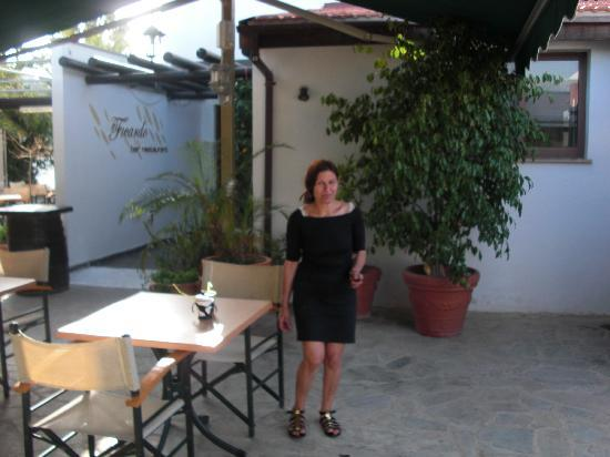 Ficardo Restaurant: Elaina owner and chef