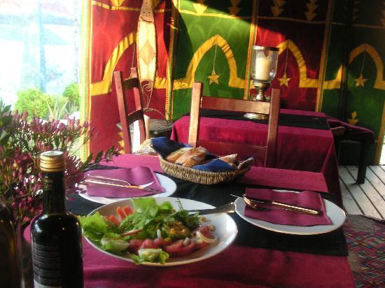 Paraiso Perdido: Abendessen im Beduinenzelt