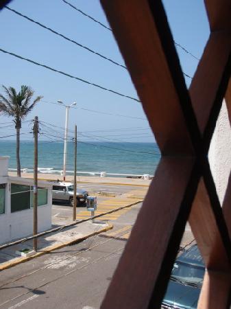 Hotel Playa Veracruz: View from the hotel room