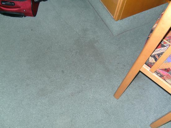Hotel und Restaurant Breitenbacher Hof: Flecken auf dem Teppich