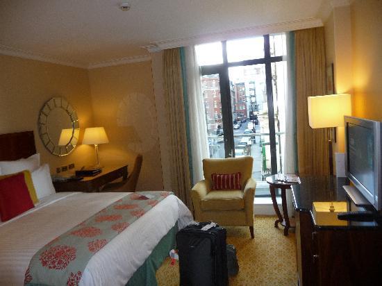 London Marriott Hotel Park Lane: Room at Marriott Park Lane