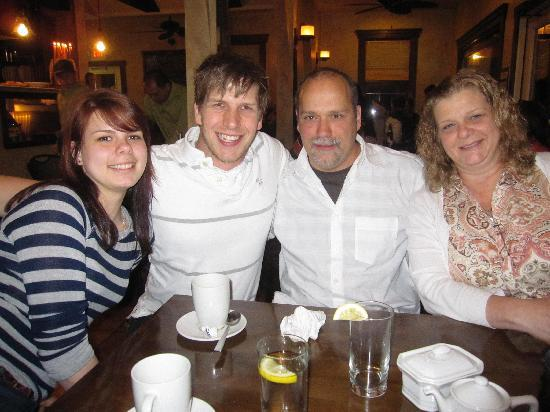Mezza : Our family at The Pita Spot