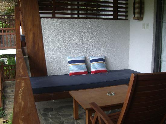 Suite's private balcony
