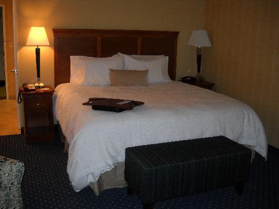 Hampton Inn Ellsworth / Bar Harbor: The Bed