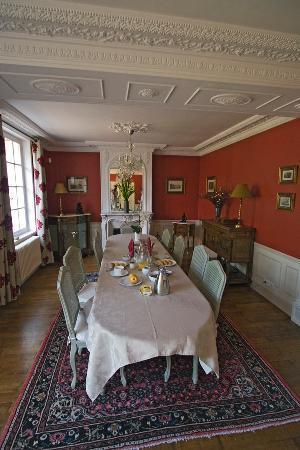 Le Clos Sainte-Marie: Speisezimmer