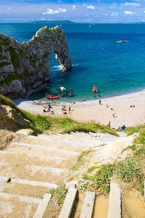 Bindon Bottom B&B: Durdle Door, short walk from Graybank B&B