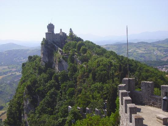 San Marino: La rocca La Cesta