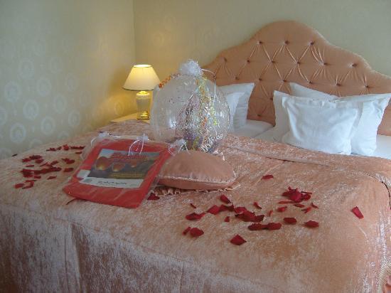 Villa Contessa: speziell dekoriertes Zimmer