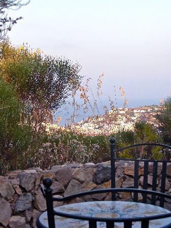 Il Gabbiano B&B: un angolo del giardino di Gabbiano
