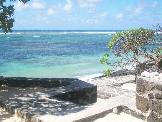 La Maison D'ete Hotel: spiaggia dell'hotel