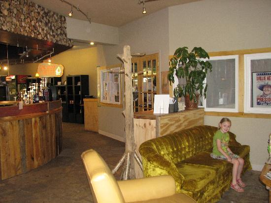 Tribal Grounds Coffee: Inside the seating area is beautiful