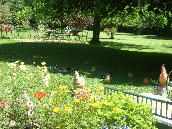 Le Moulin de Vigonac : LES CANARDS FONT PARTIE DU DECOR