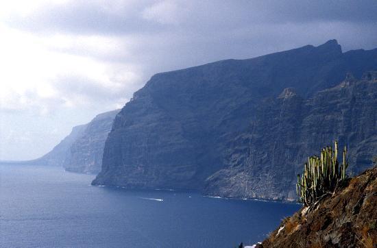 Ténérife, Espagne : Acantilado de Los Gigantes, Tenerife