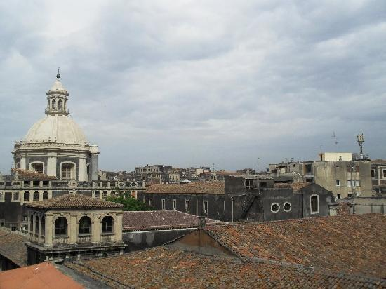 Bed & Breakfast San Placido Inn: Panorama dalla terrazza