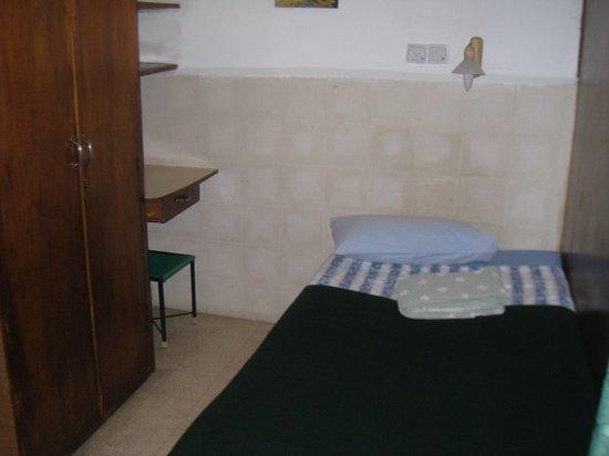 Ecce Homo Convent: bed - no air-con; only fan