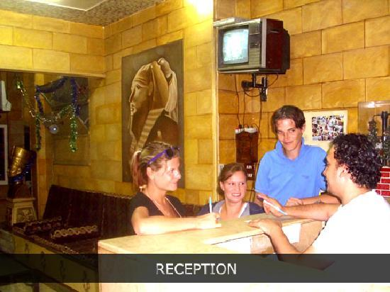 Rec - New Palace hotel hostel in Cairo Egypt hostels hotels