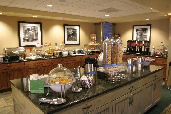 Hampton Inn & Suites Lake George : All rooms include our On The House Hot Breakfast each and every morning!