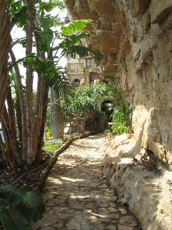 La Grotta dei Fichi: Path to the entrance