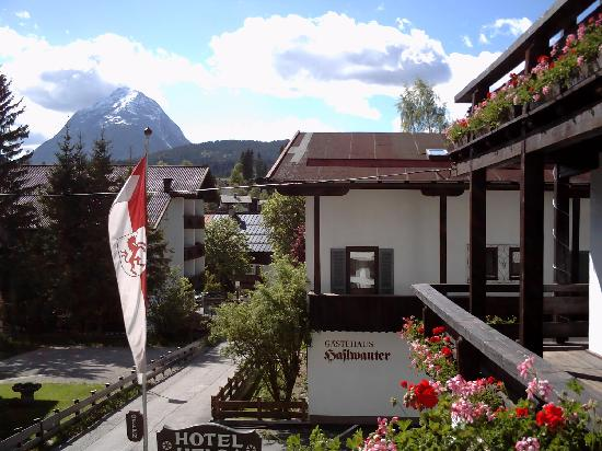 Hotel Helga: View from 1st floor Balcony
