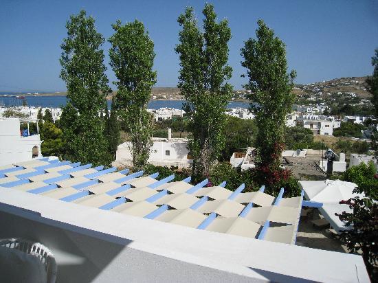 Hotel Panorama: Paros PANORAMA, vue d'un balcon