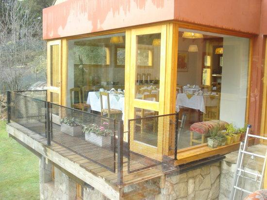Rosas Blancas Apart Hotel: Desayunador