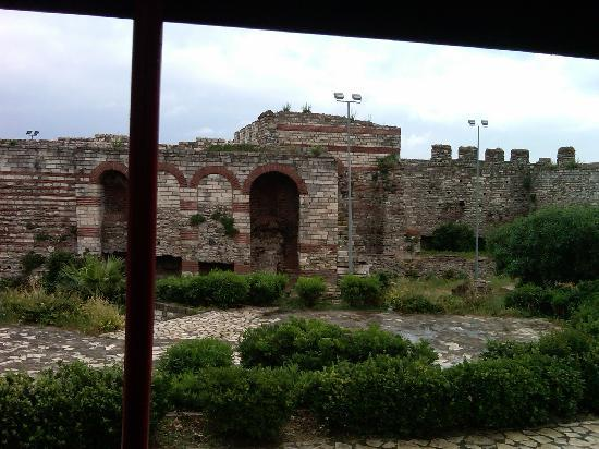 Istanbul, Turkiet: Ruins of Justinian's Palace (Eastern Roman Empire)