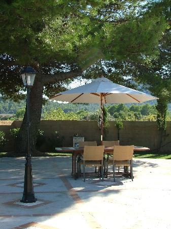 Arta, Spania: hotel garden