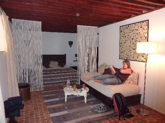 Riad El Ma: La chambre blanche.