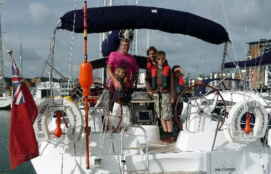 Windswept International Limited Private Charter: Family trip on Windswept