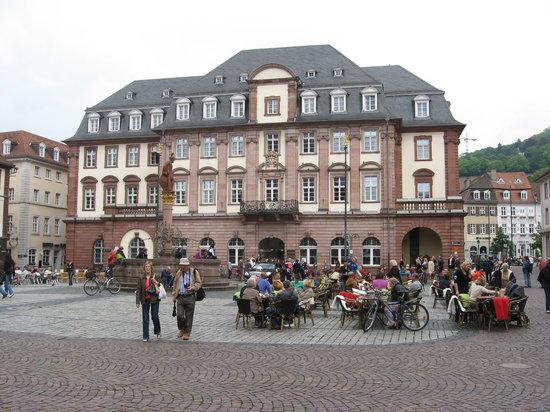 海德堡旧城区