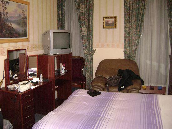 Rennie Mackintosh Art School Hotel: zimmer