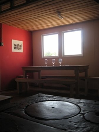 Hostal Coloane: The dinning room