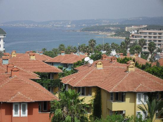 Türkler, ตุรกี: view from our balcony