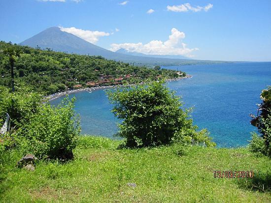 Cili Emas Oceanside Resort : Nordbali bei Amed